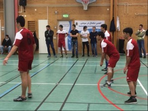 Volleybolls match